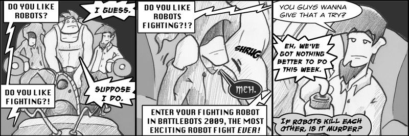 Robot Fightin' Part 1