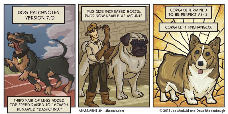 Dog Improvements